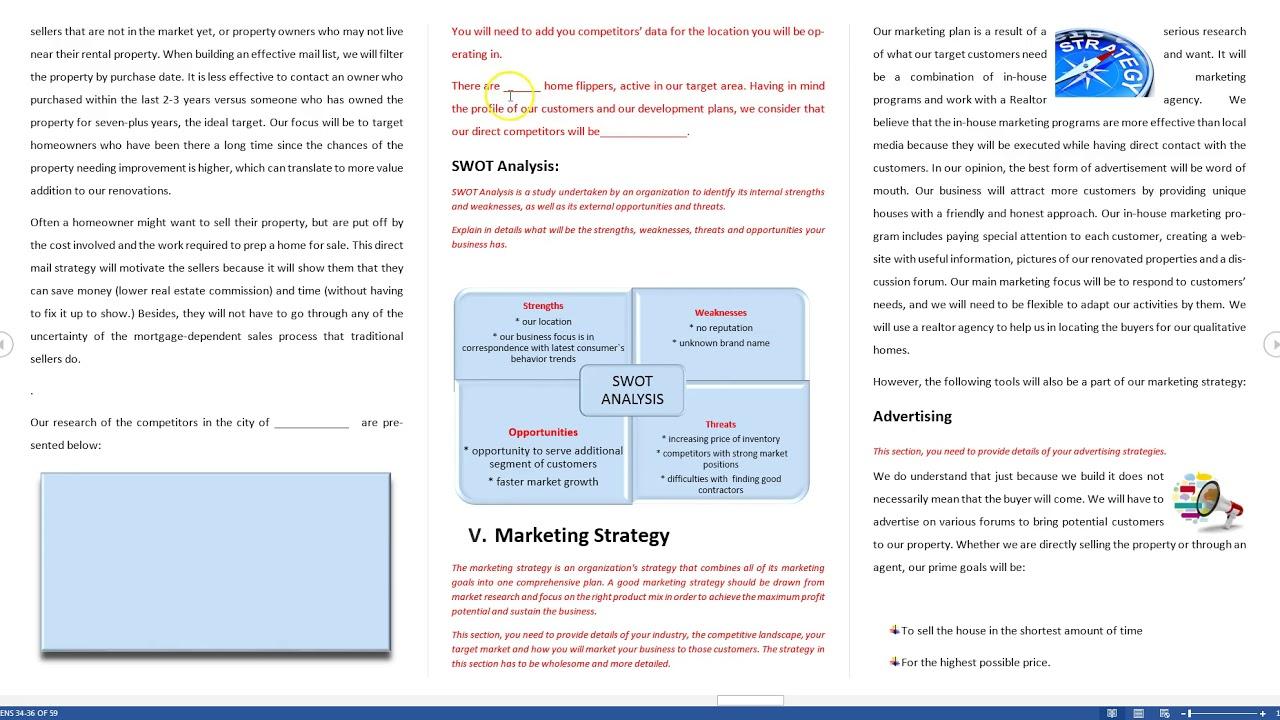 real-estate-investing-business-plan-pdf-real-estate-house-flipping-business-plan-template