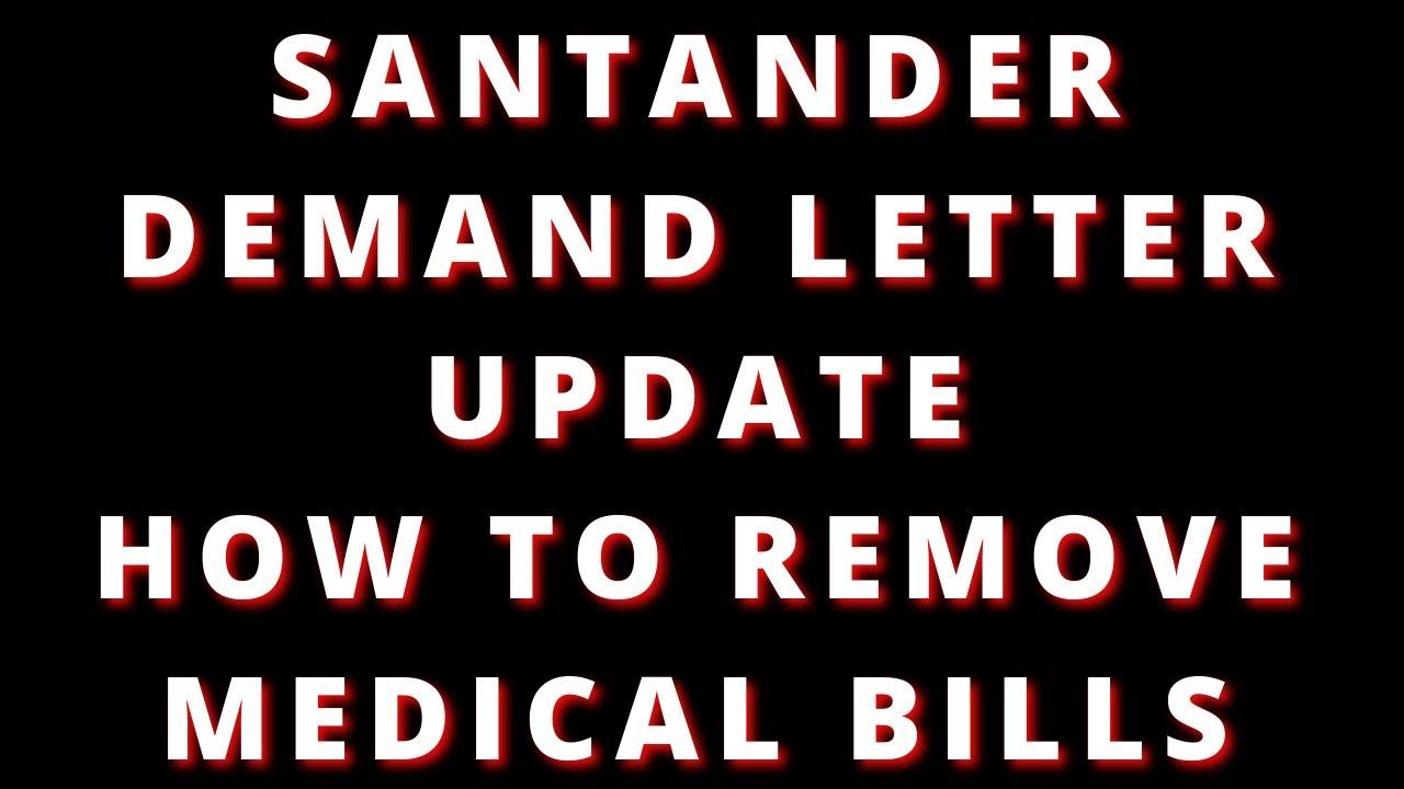 santander-demand-letter-medical-bill-dispute-and-validation-process