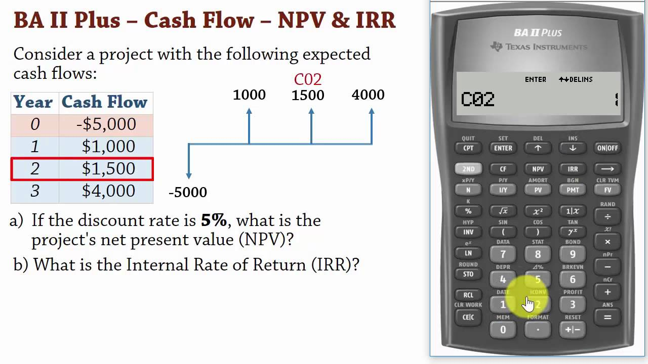 chapter-11-investing-for-your-future-worksheet-answers-ba-ii-plus-cash-flows-1-net-present-value-npv-and-irr-calculations