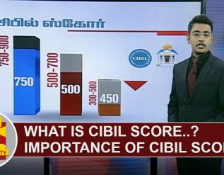 what-is-cibil-score-importance-of-cibil-score-thanthi-tv