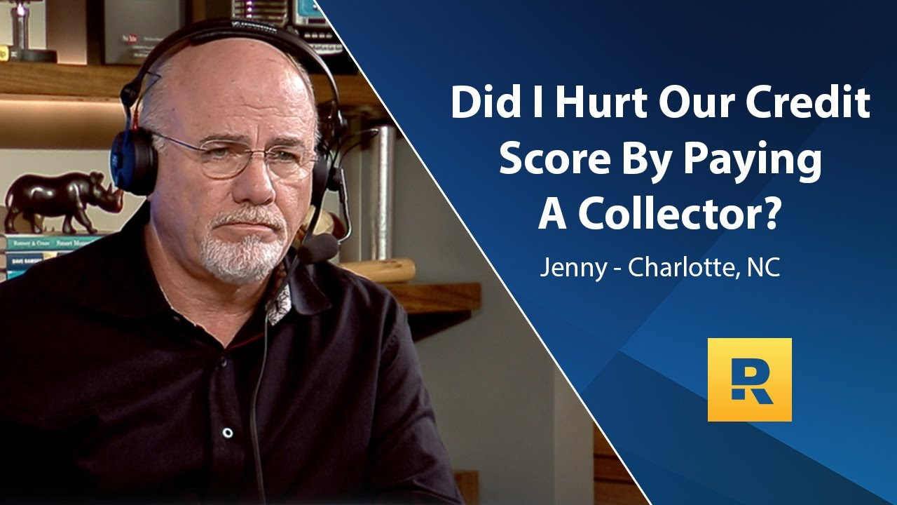 did-i-hurt-our-credit-score-by-paying-a-collector