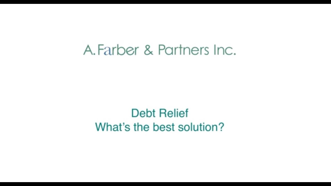 debt-relief-whats-the-best-solution