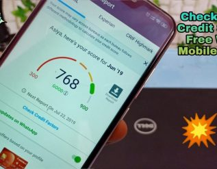 how-to-check-credit-score-free-with-mobile-phone