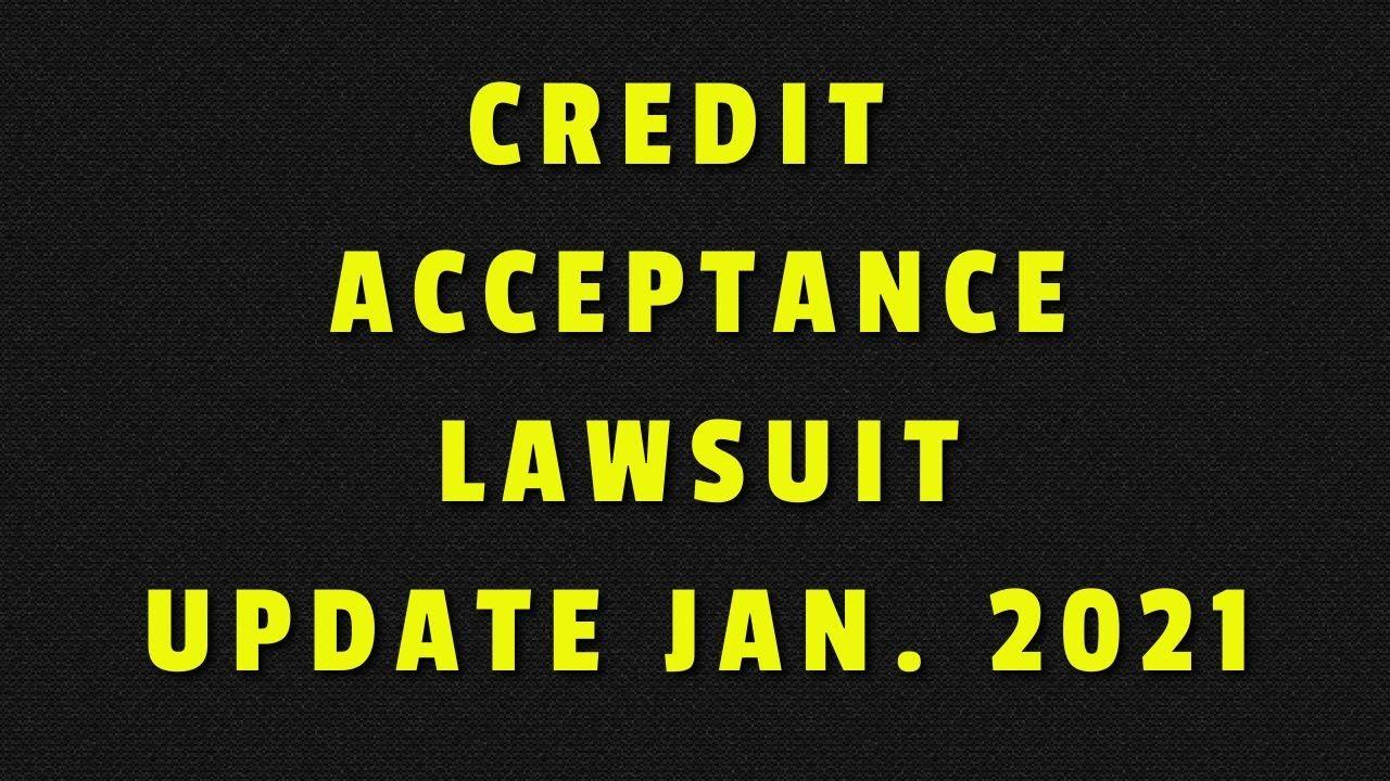 credit-acceptance-lawsuit-update