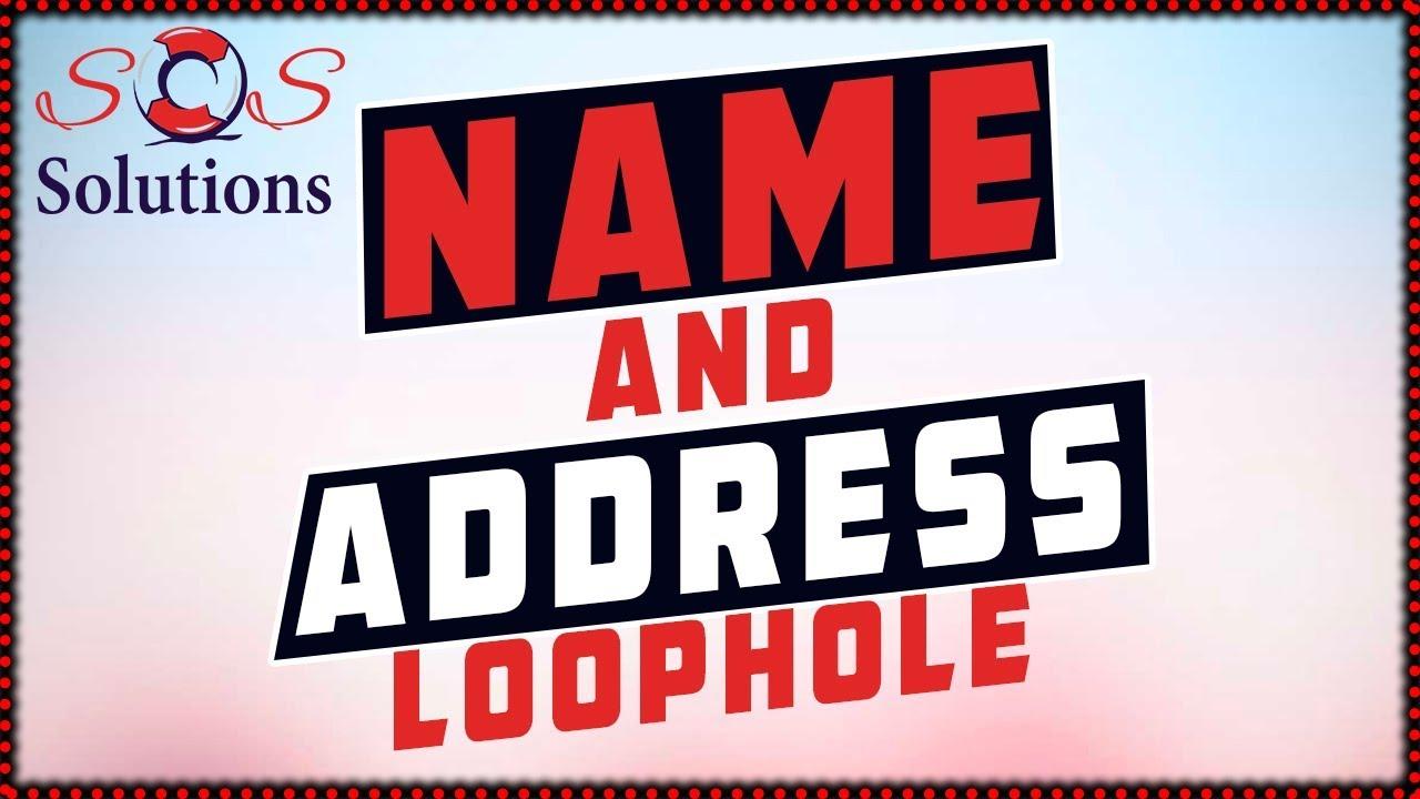 diy-credit-repair-name-and-address-loophole