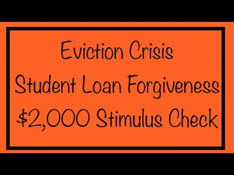eviction-crisis-student-loan-forgiveness-2000-stimulus-check-petition-daily-update