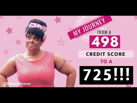 credit-score-725-my-credit-journey-from-498-credit-score-to-a-725-fix-my-credit-friday-episode-3