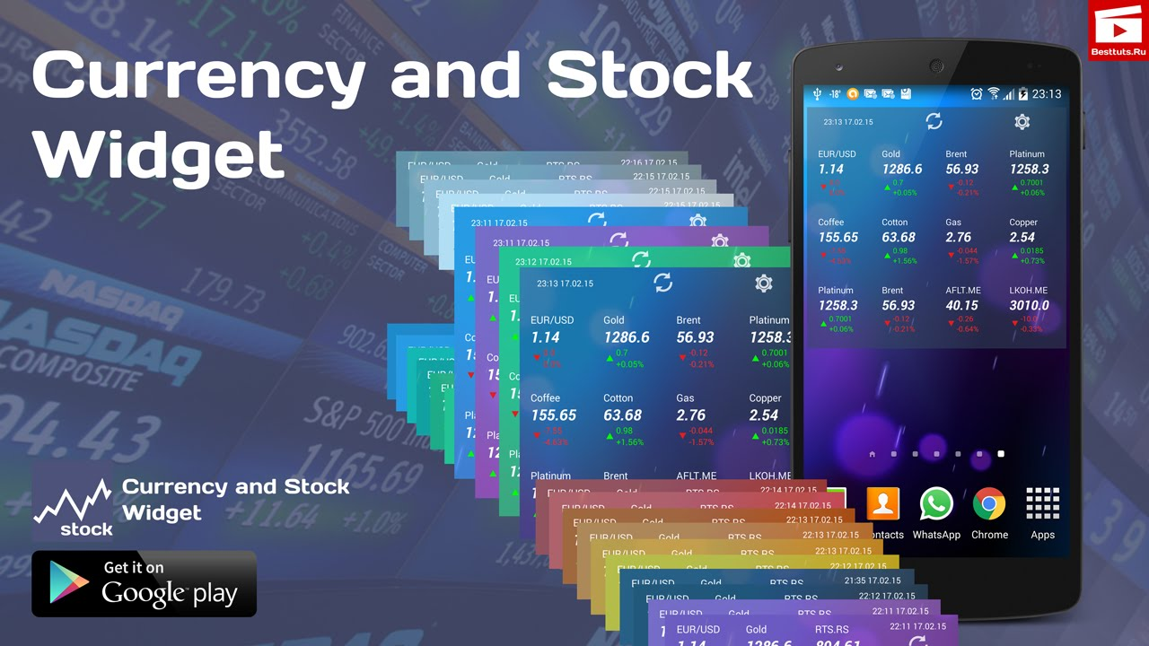 android-stock-market-widget-currency-and-stock-widget-for-android