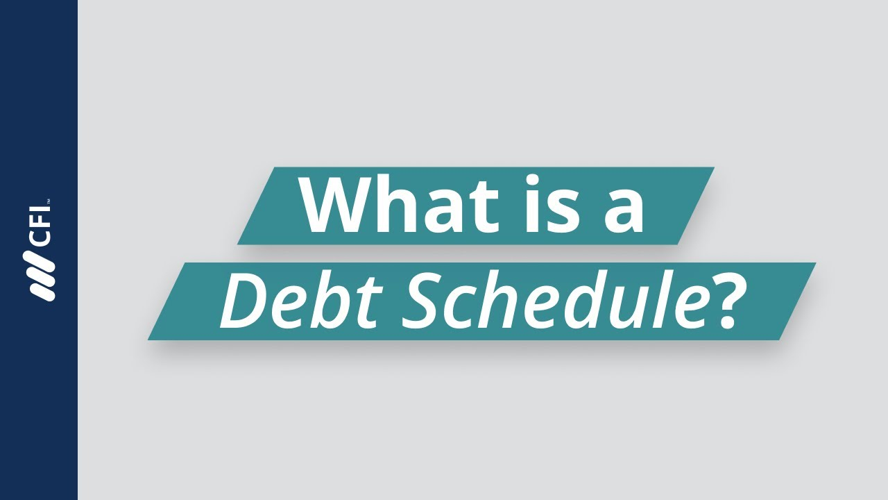 loan-maturity-what-is-a-debt-schedule