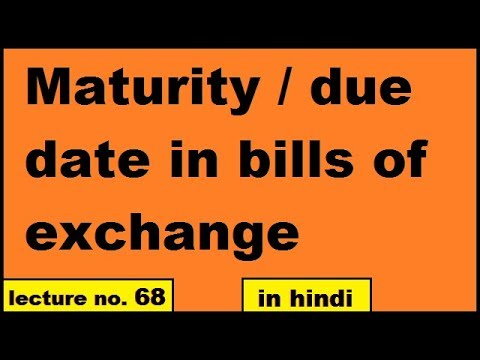loan-maturity-date-how-to-calculate-maturity-date-due-date-in-bills-of-exchange-in-hindi-class-11th-ca-cpt-foundation