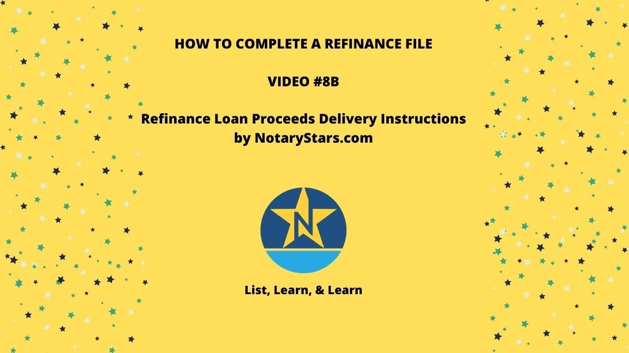loan-proceeds-8b-refinance-loan-proceeds-delivery-instructions