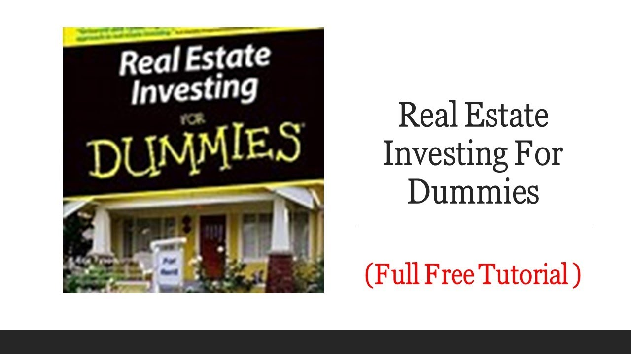 beginners-guide-to-real-estate-investing-pdf-real-estate-investing-for-dummies-free-material-to-help-you-in-the-description